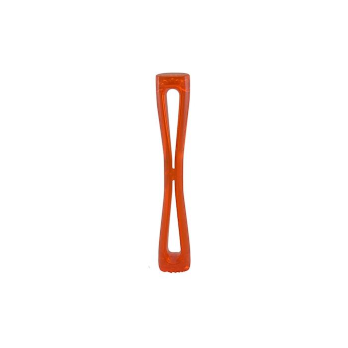 Pestello in policarbonato arancio fluo zigrinato cm 30