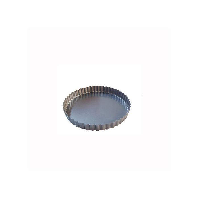 Tortiera per crostata De Buyer in alluminio cm 24