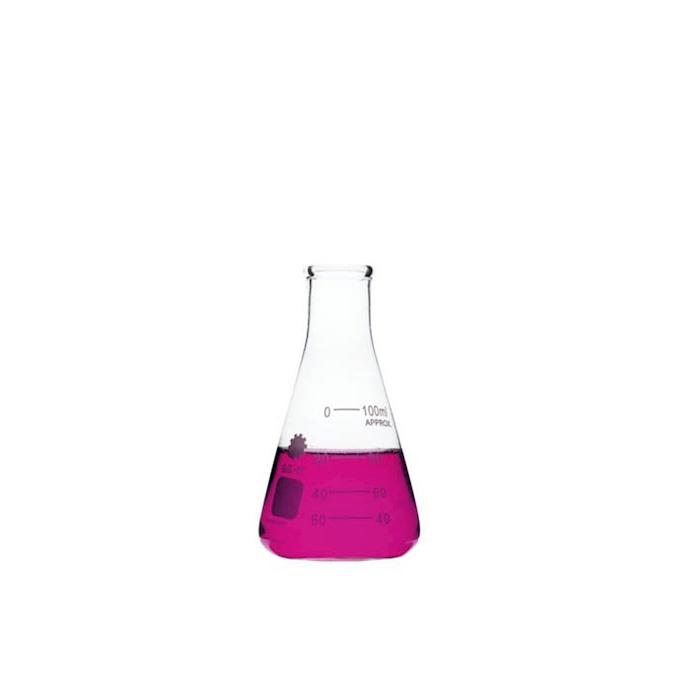 Ampolla graduata in vetro trasparente cl 10