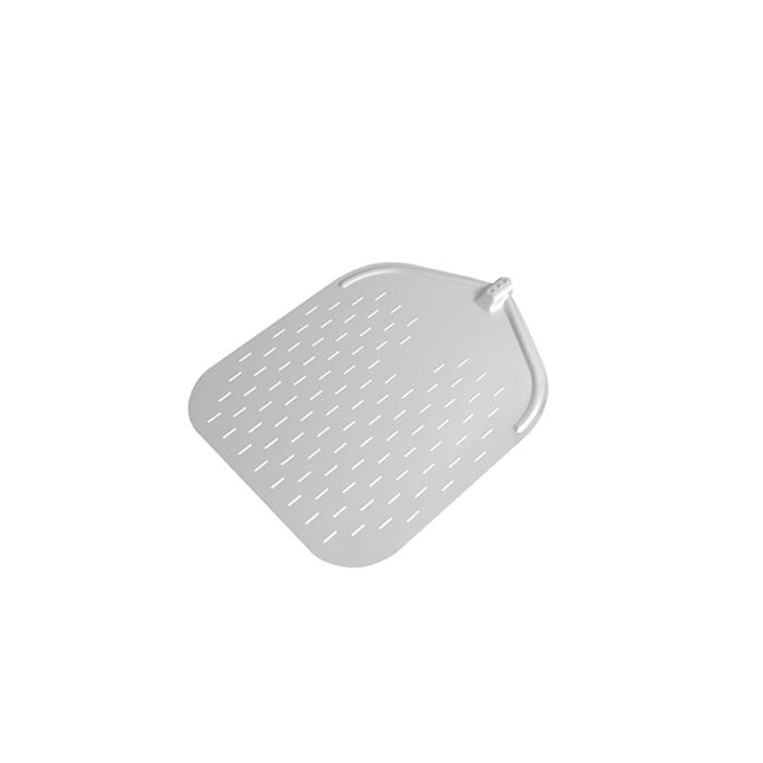 Pala per pizza rettangolare forata in alluminio 50 cm Stil Casa