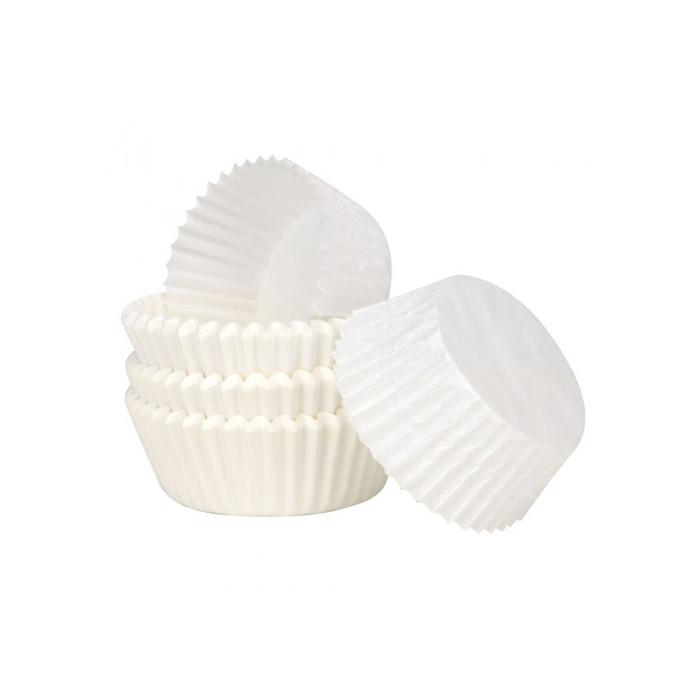 Pirottini da cottura bianchi cm 3,5x2,3x1,7