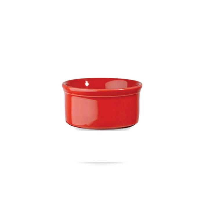 Coppetta tonda Linea Cookware Churchill in porcellana rossa cm 13,5