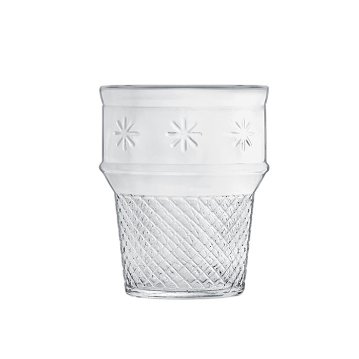 Cono gelato Luigi Bormioli in vetro trasparente cl 25