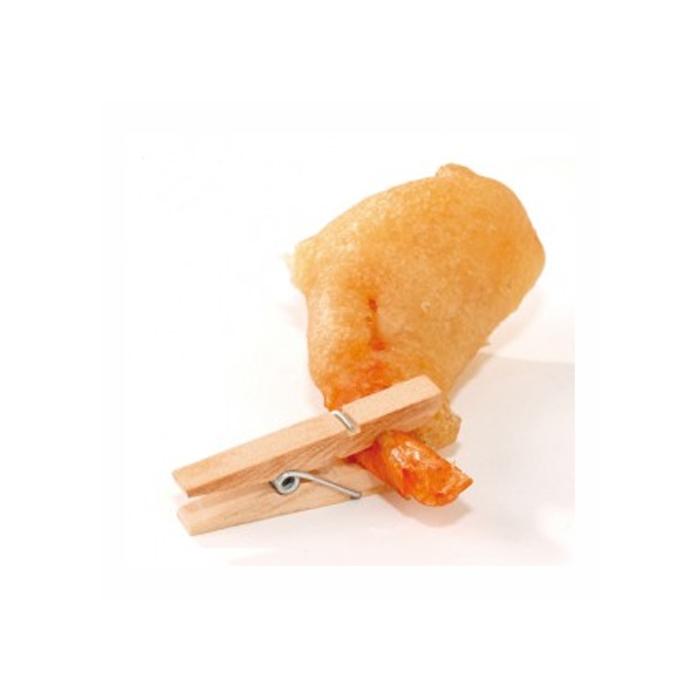 Mini mollette in legno cm 3,5