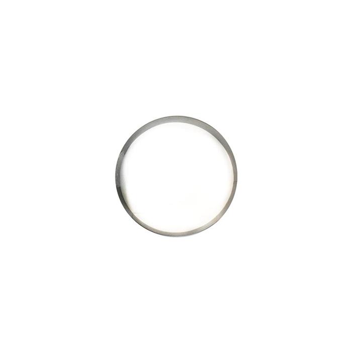 Anello per impiattare in acciaio inox cm 4x3,5