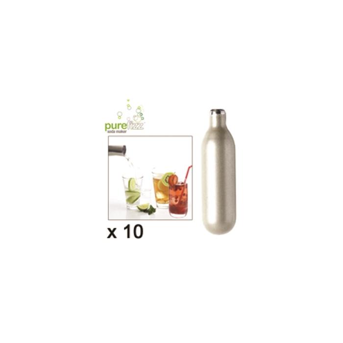 Bombolette CO2 per sifone seltz Purefizz