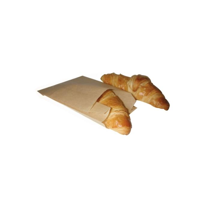 Sacchetti per alimenti in carta marrone cm 28 x 14
