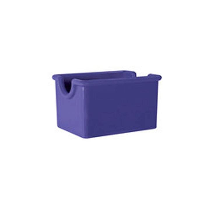 Porta bustine in san viola cm 8,9X6,4X5,1