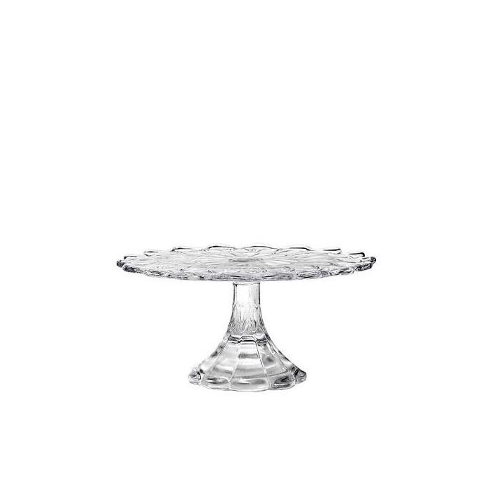 Alzata Vintage Zafferano piccola in vetro cm 21,5