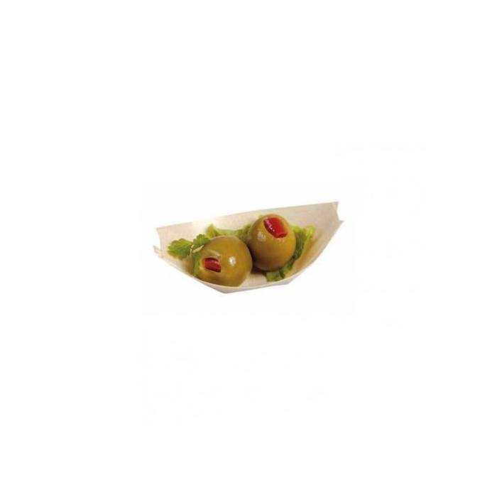 Mini barchetta in legno abete cm 6,5 x 4,7