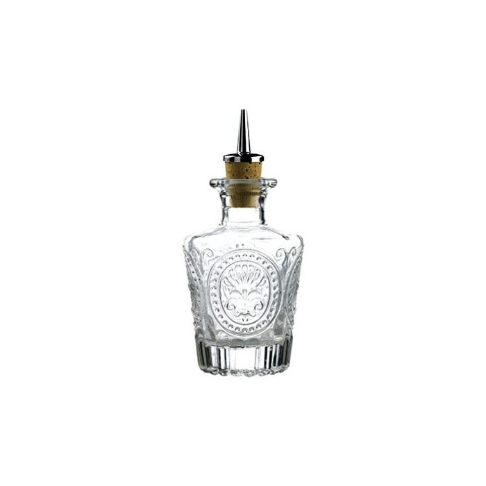 Bottiglia angostura in vetro con tappo cl 12