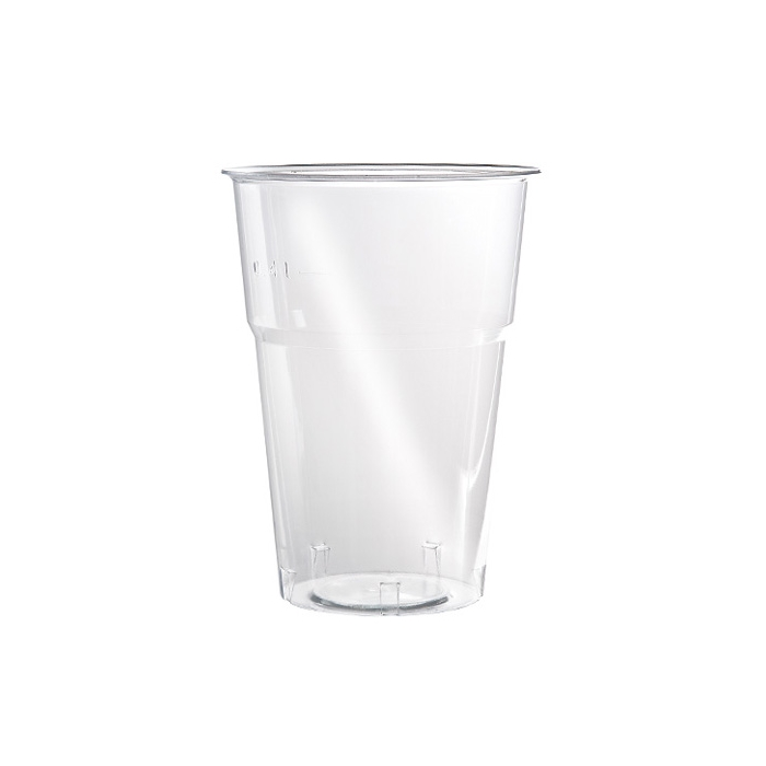 Bicchiere monouso Kristall FLO in polistirolo trasparente cl 57,5