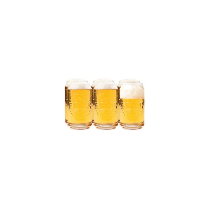 Bicchiere birra Prost! in vetro cl 45