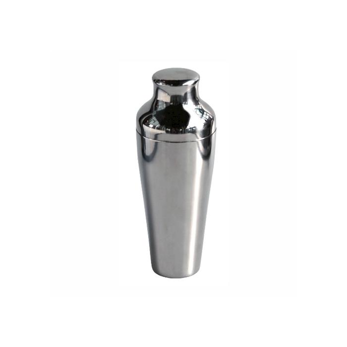 Shaker Parisienne 2 pezzi in acciaio inox cl 55