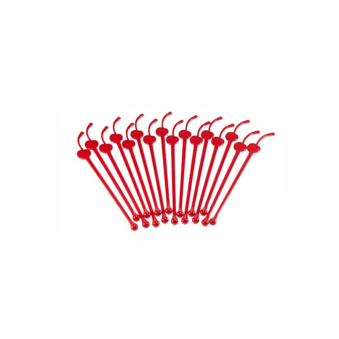 Stirrer in plastica forma ciliegia