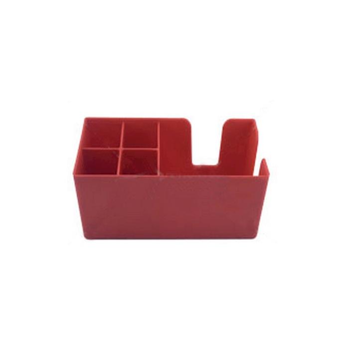 Bar Caddy in policarbonato rosso