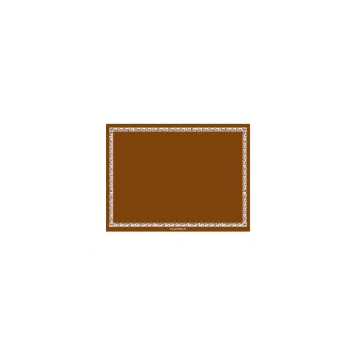 Tovaglietta in airlaid marrone cm 30x40