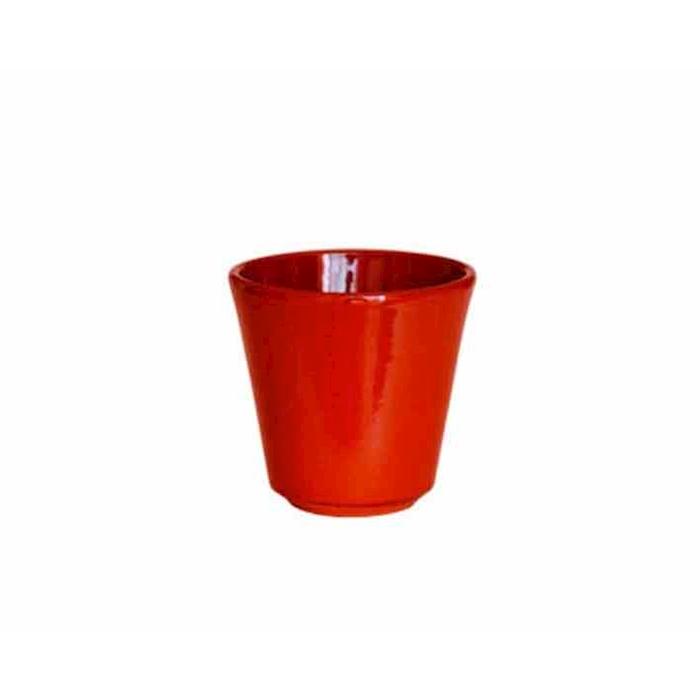 Bicchiere Rustic in terracotta marrone cl 20