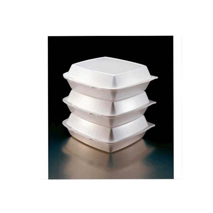 Contenitori hamburger in polistirolo cm 15x15x7