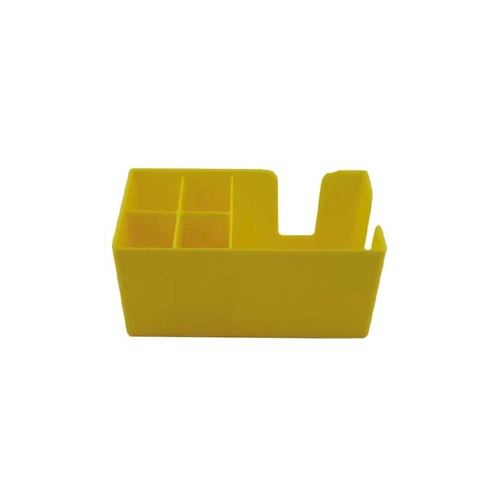 Bar caddy in policarbonato giallo cm 24 x 14,5 x 10,5