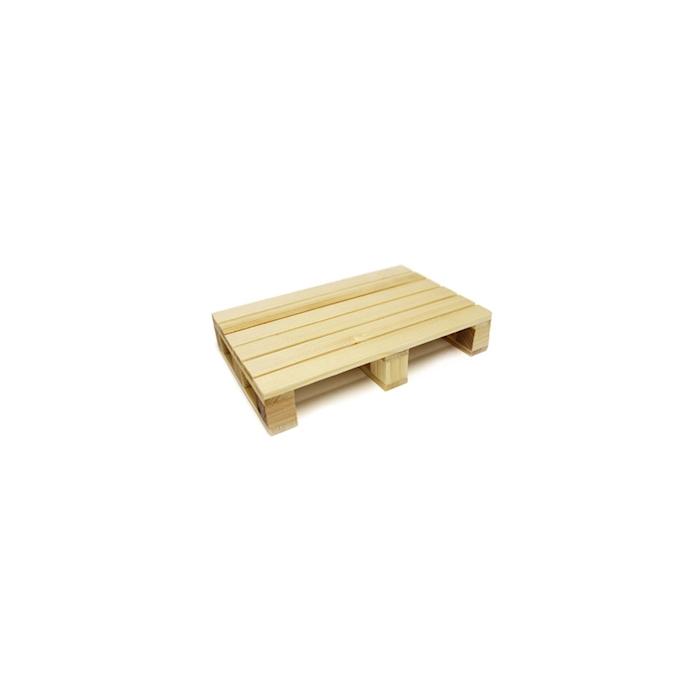Piatto Pallet in legno cm 20x13