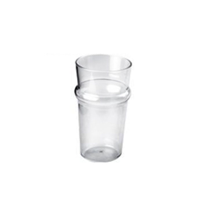 Bicchiere Pinta Gold Plast in san trasparente cl 60