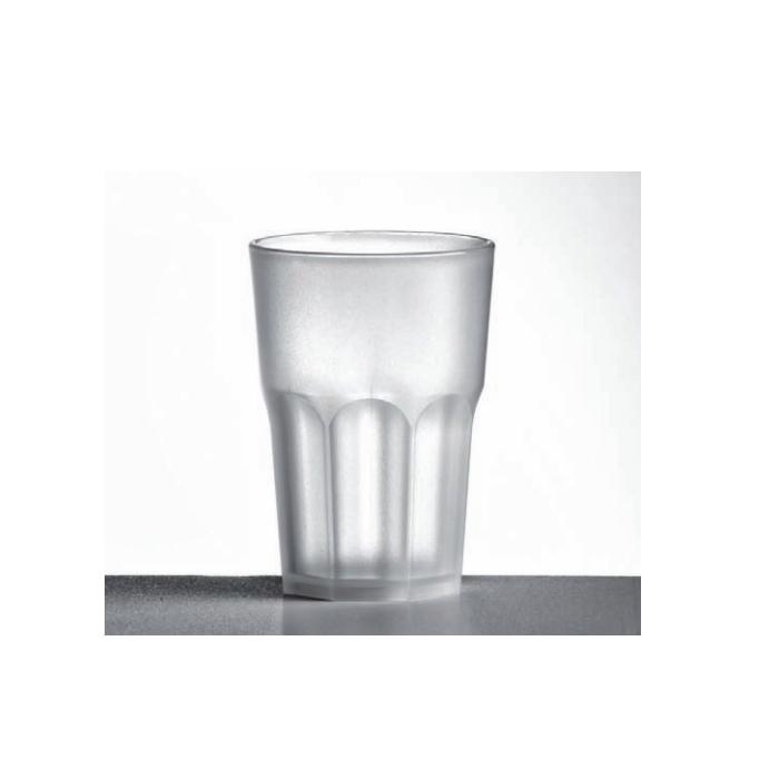 Bicchiere granity Nipco in polipropilene satinato cl 35