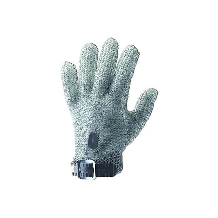 Guanto antitaglio Arcos in maglia di acciaio inox cm 21 taglia XXS