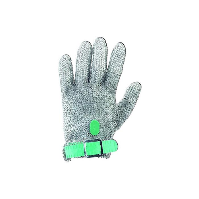 Guanto antitaglio Arcos in maglia di acciaio inox cm 23 taglia XS