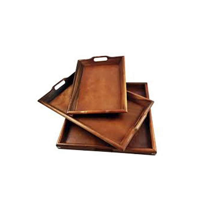 Vassoio Classico in legno  48,5x36,5