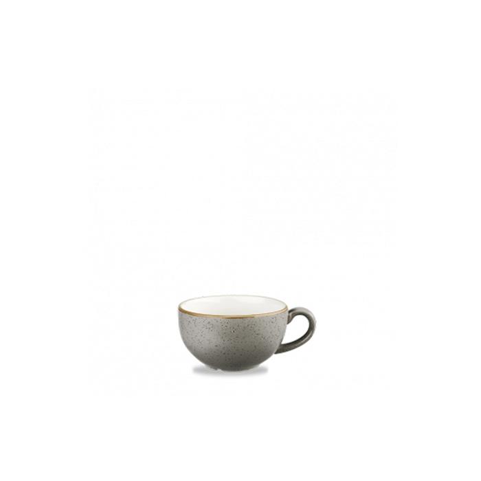 Tazza cappuccino Stonecast Churchill in ceramica vetrificata grigia cl 22,7