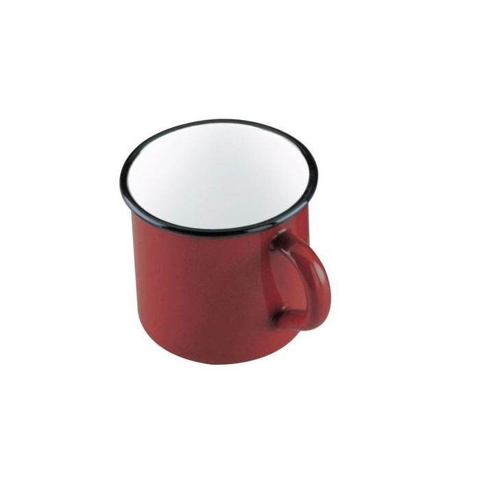 Tazza mug Roja in latta rossa cl 40