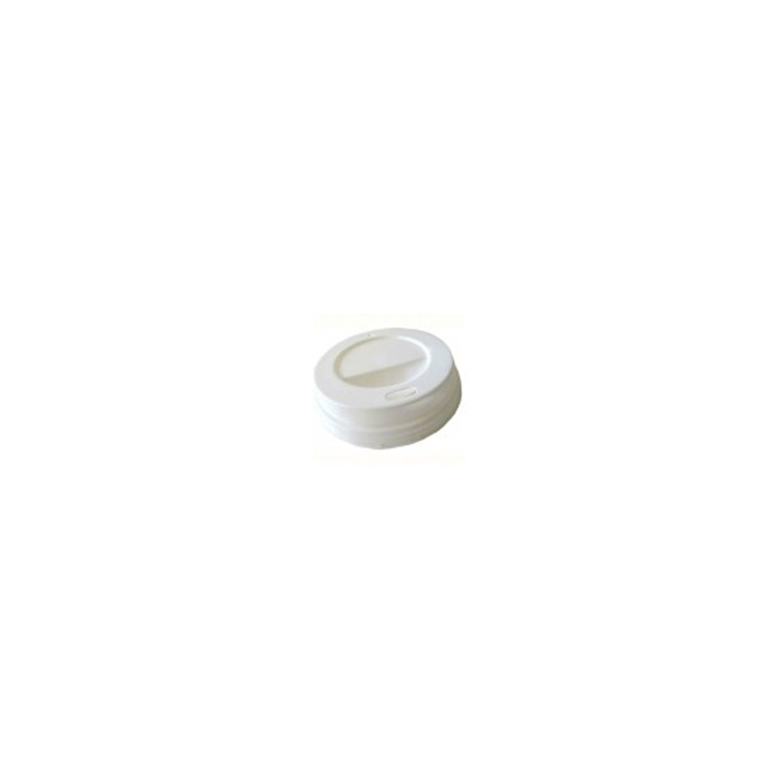 Coperchio in plastica bianca