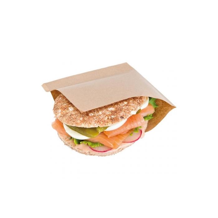 Sacchetti porta panini con doppia apertura cm 15x15,2