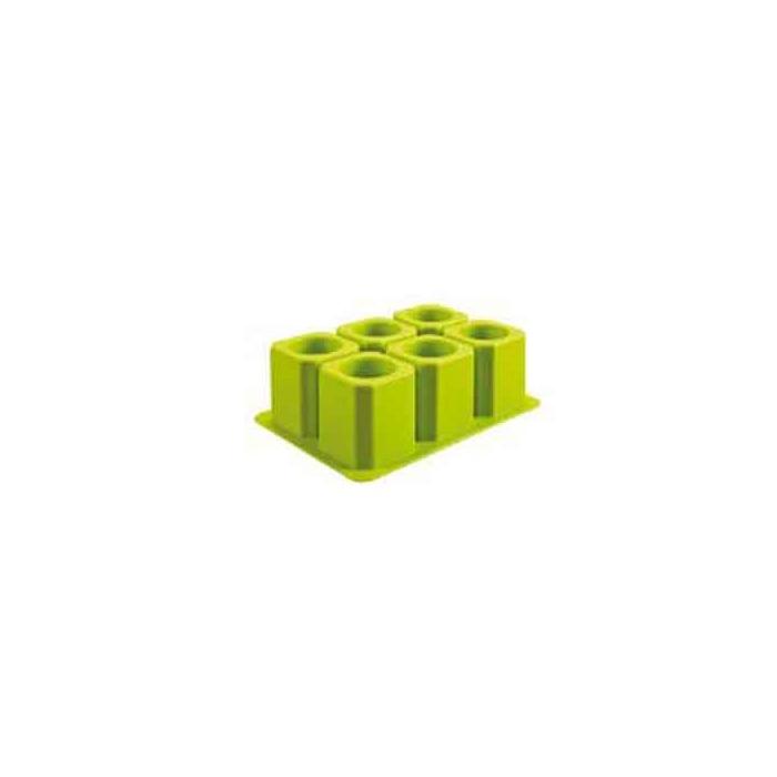 Stampo ghiaccio XL in silicone verde
