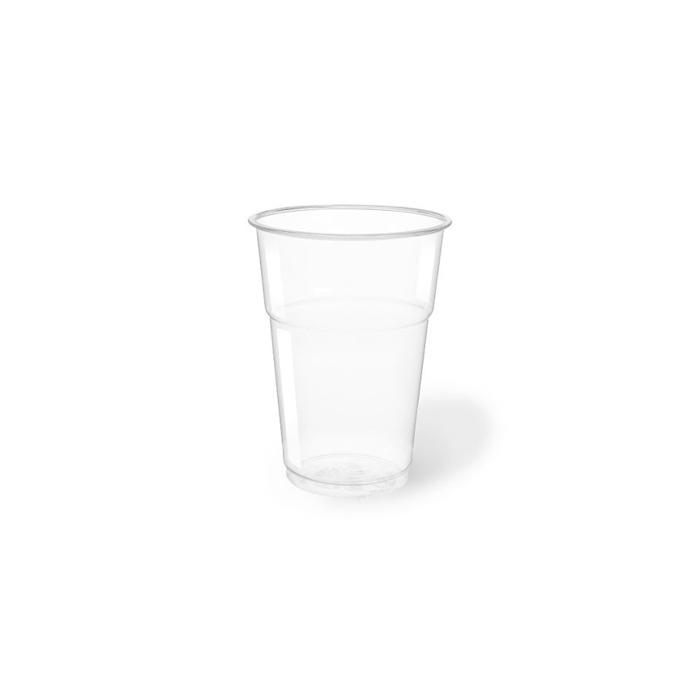 Bicchieri Ecok in pla trasparente cl 57,5
