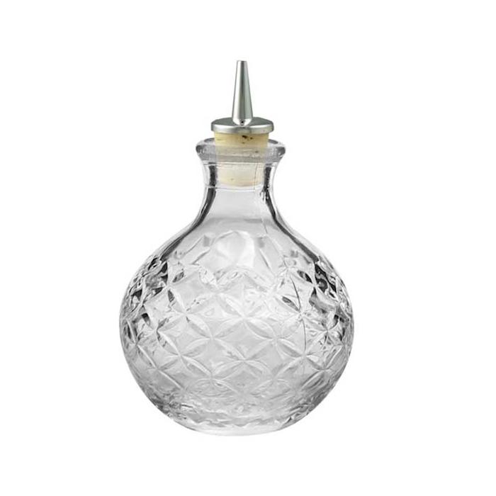 Bottiglia angostura Ronin con pourer in vetro cl 20