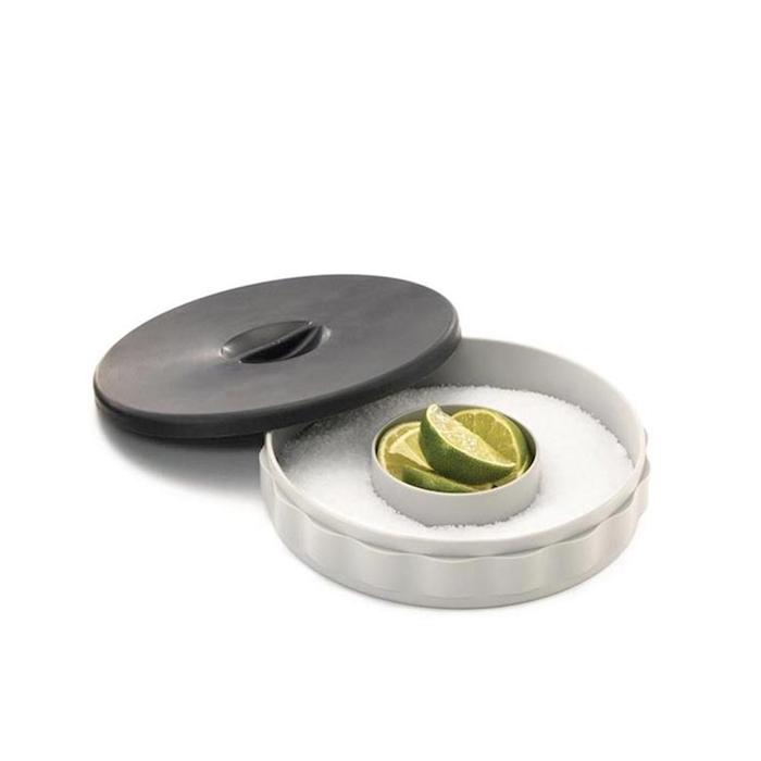Bordatore Bicchieri 1 unità in polipropilene nero cm 17,5x5,5