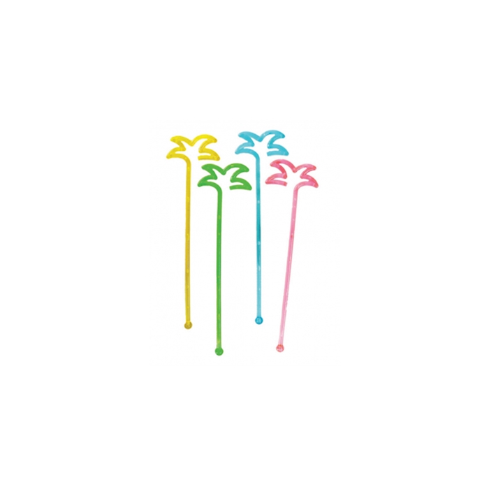 Stirrer Palma in plastica di colori assortiti cm 18