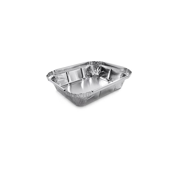 Vaschette rettangolari in alluminio cm 13,5x11x3,5