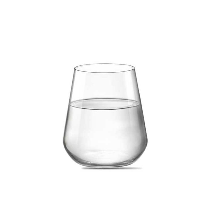 Bicchiere acqua InAlto Rocco Bormioli in vetro cl 44,5