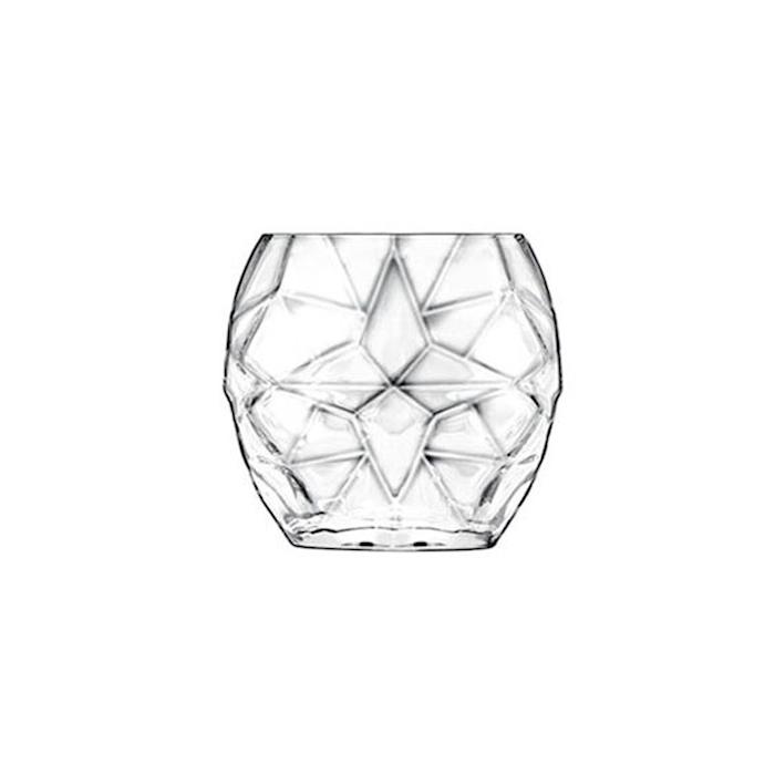 Bicchiere Prezioso Luigi Bormioli in vetro trasparente cl 40