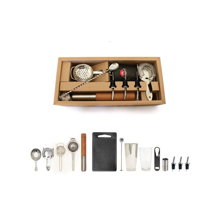 Kit cocktail Deluxe 14 pezzi