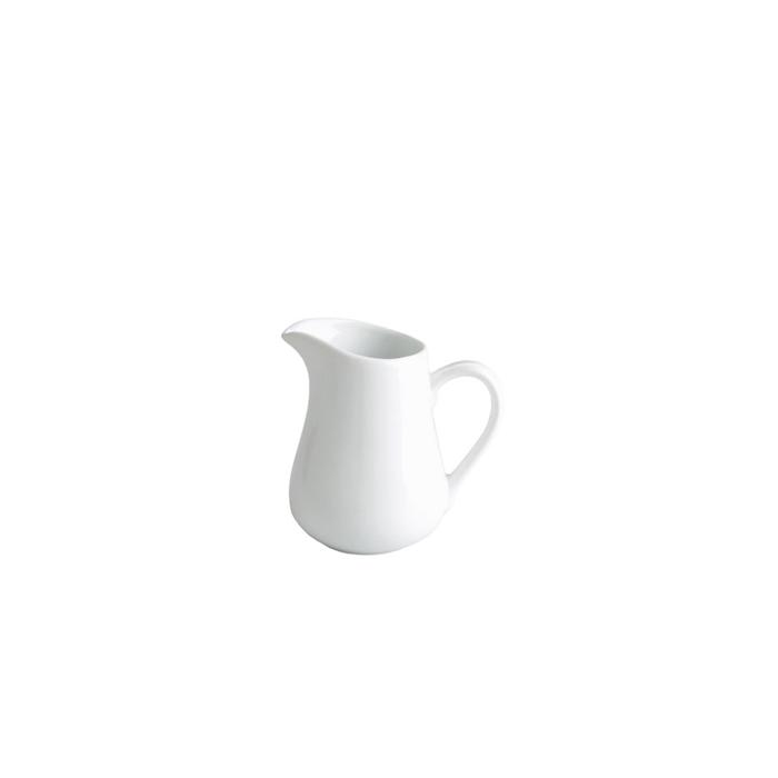 Mini lattiera in porcellana bianca cl 5
