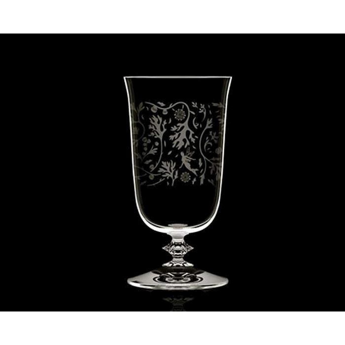 Bicchiere Alto Ball Wormwood con decoro in vetro cl 31