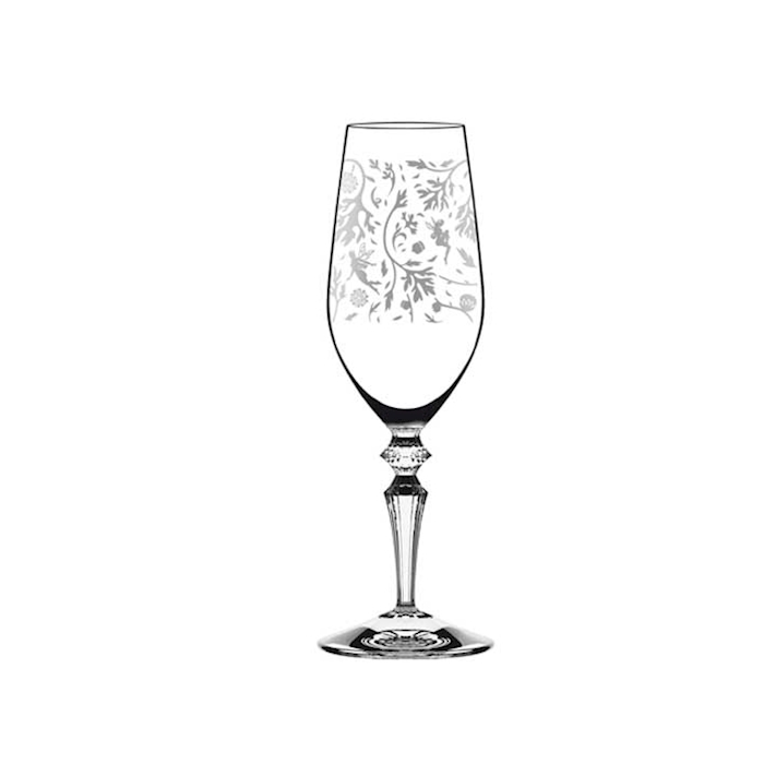 Calice Fizz Wormwood con decoro in vetro cl 26
