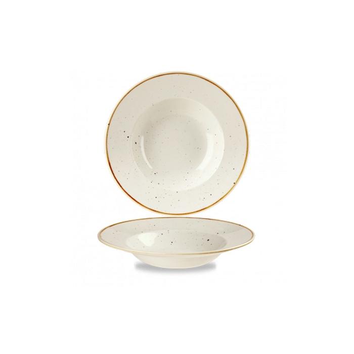 Pasta Bowl Stonecast Churchill in ceramica vetrificata bianca cm 28