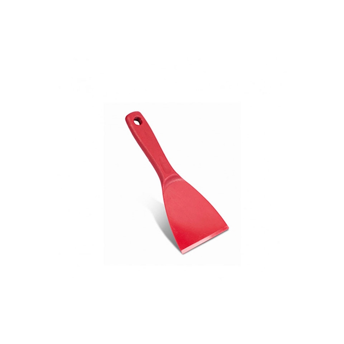 Spatola triangolare in abs rosso cm 10x12