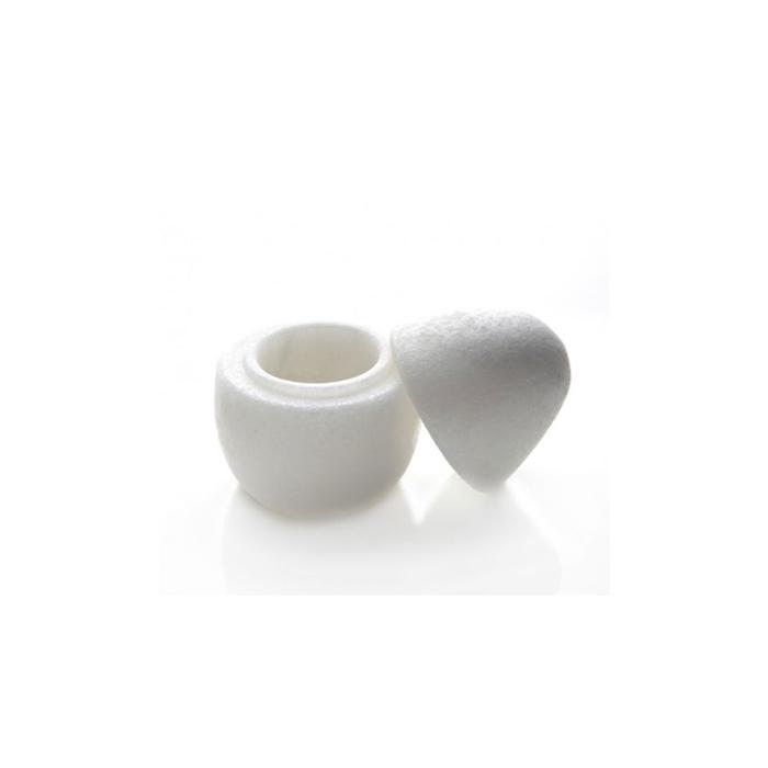 Bicchiere Uovo Imperatore 100% Chef in marmo cm 11x8
