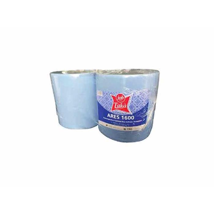Rotolo asciugatutto 500 strappi Ares 1600 blu